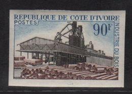Cote D Ivoire - N°276 Non Dentele ** - Industrie Du Bois - Côte D'Ivoire (1960-...)