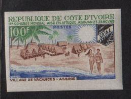 Cote D Ivoire - N°293 Non Dentele ** - Village Vacances Assinte - Côte D'Ivoire (1960-...)