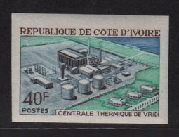 Cote D Ivoire - N°306 Non Dentele ** - Centrale Thermique De Vridi - Côte D'Ivoire (1960-...)