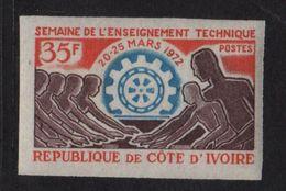 Cote D Ivoire - N°331 Non Dentele ** - Enseignement Technique - Côte D'Ivoire (1960-...)