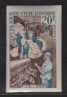 Cote D Ivoire - N°272 Non Dentele ** - Ficellerie - Côte D'Ivoire (1960-...)