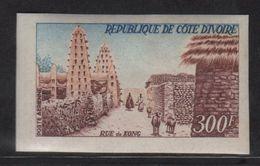 Cote D Ivoire - PA N°35 Non Dentele ** - Rue De Kong - Côte D'Ivoire (1960-...)