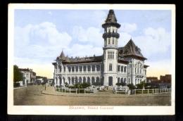 ROMANIA - Buzeu, Palatul Comunal / Postcard Not Circulated, 2 Scans - Rumania