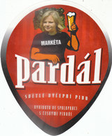 Etiquette BIERE DE PARDAL - Rare - Birra