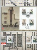 Avec La  Tchéquie: Josef Hoffmann - Maison Stoclet  -   Carte HK 3629 + Timbres En Neufs  (**) - Souvenir Cards