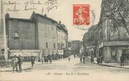 """/ CPA FRANCE 13 """"Aubagne, Rue De La République"""" - Aubagne"""