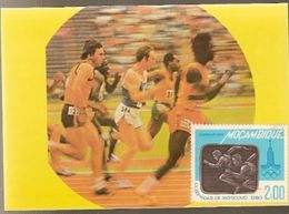 Mozambique ** & Postal, Moscow Olympic Games 1980 (15) - Mozambique