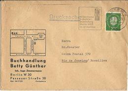 LSJP GERMANY COVER SEAL BERLIN INDUSTRY 1959 - Cartas