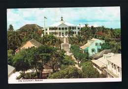 THE BAHALMAS ISLANDS - NASSAU - The Governor's Mansion In Dowtow-Bel Affranchissement Au Verso Scanné- - Bahamas
