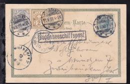 OSt. Konstanz 18.9.02 + R1 Bodenseeschiffspost Auf CAK - Zonder Classificatie