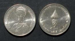 Thailand Coin 5 Baht 1992 60th Birthday Queen Y260 UNC - Thailand