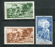 7757  REUNION  PA 7/9 **  Protection De L'enfance Indigène Et Quinzaine Impériale  1942     TB - Réunion (1852-1975)