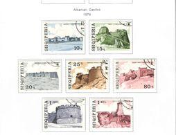 Albania PO 1976 Castelli Albania    Scott.1767/1773+See Scan On Scott.Page - Albania