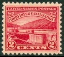 UNITED STATES OF AMERICA 1929 MONONGAHELA RIVER LOCK** (MNH) - Neufs