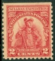 UNITED STATES OF AMERICA 1929 GENERAL JOHN SULLIVAN** (MNH) - Neufs