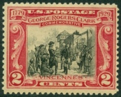 UNITED STATES OF AMERICA 1929 FORT SACKVILLE** (MNH) - Neufs