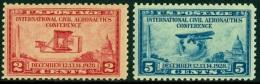 UNITED STATES OF AMERICA 1928 AERONAUTICS CONFERENCE** (MNH) - Neufs