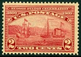 UNITED STATES OF AMERICA 1909 HUDSON-FULTON** (MNH) - Etats-Unis