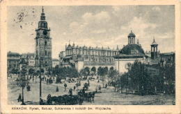 Krakow - Rynek, Ratusz, ... (18) * 7. 1. 1927 - Polen