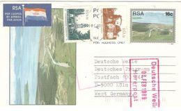 4908 - Entier Pour L'Allemagne - Afrique Du Sud (1961-...)