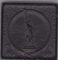 LE CARBONE STREET RAILWAY CONVENTION ATLANTIC CITY 1908 (PARIS NEW YORK) - Advertising