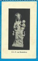 O.L.V. Van    Roosenberg - Images Religieuses