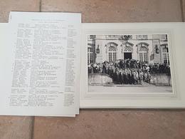 Echternach Séminaire C.I.E.M. Liste Des Participants.André Cops - Echternach