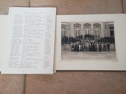 Echternach Séminaire C.I.E.M. Liste Des Participants.Jean Wagner. - Echternach
