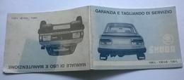 SKODA MANUALE USO E MANUTENZIONE / GARANZIA E TAGLIANDO - Automobili