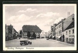 AK Ebersberg, Marienplatz Mit Café Linde - Ebersberg