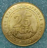 Central Africa (BEAC) 25 Francs, 2006 -1648 - República Centroafricana