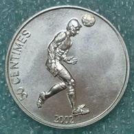 Congo - DRC 50 Centimes, 2002 Soccer Player ↓price↓ - Congo (Democratic Republic 1998)