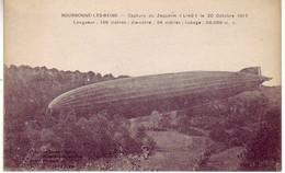 (52). Bourbonne Les Bains. Capture Du Zeppelin L 49. 20 Octobre 1917 - Dirigeables