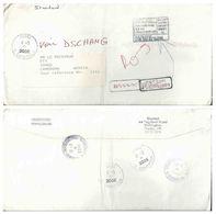 Port Payé : Lettre Pour Le Cameroun - Retour à L'envoyeur Annulé - Cameroun (1960-...)