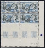 PA 44  20F. MERMOZ/ST EXUPERY - CD 27.8.70 - Coins Datés