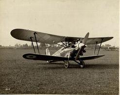 BRISTOL  BULLDOG  SINGLE SEATER FIGHTER    PROTOTYPE      24 * 18 CM Aviation, AIRPLAIN, AVION AIRCRAFT - Aviación