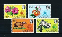 Dominica  Nº Yvert  331/4  En Nuevo - Dominica (1978-...)