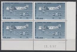 PA 57b 15f. FARMAN Impression Fine - CD 13.6.97 - Dated Corners