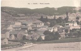 FR66 ODEILLO - Brun 187 - Colorisée - Partie Orientale Du Village - Belle - France