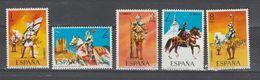 Espagne  Uniformes 1973  N°1793 / 97  Serie Compl. Neuve X X - 1931-Aujourd'hui: II. République - ....Juan Carlos I