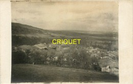 55 Sivry La Perche, Carte Photo Du Village, Datée Février 1918, Beau Document Pas Courant - France