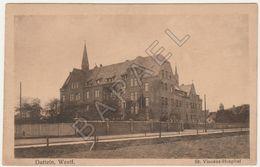 Datteln (Allemagne) - Hôpital St. Vincent (Circulé En 1923) - Datteln