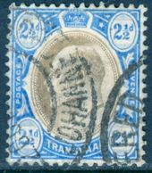 TRANSVAAL 1905 KEVII 2½d. Black And Blue, Wmk Mult Crown CA, VF Used, MiNr 121; SG 263; C.v. €8.50 - Stamps