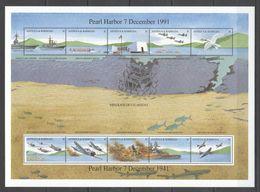 N071 ANTIGUA & BARBUDA MILITARY & WAR AVIATION PEARL HARBOR 1KB MNH - 2. Weltkrieg