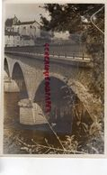 87 - LE PALAIS SUR VIENNE- LE PONT ET L' EGLISE- RARE GRANDE PHOTO ORIGINALE - Lieux