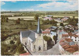 CPSM   En Avion Au Dessus De.....LA CHAPELLE AUBRY 49  L'église - France