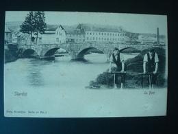 STAVELOT : Le Pont En 1905 - Stavelot