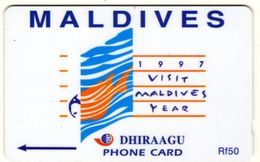 *IS. MALDIVE: 68MLDB* - Scheda Usata - Maldives