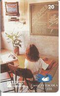 Télécarte Du BRESIL - 2eme Anniversaire De La TELEVISION SCOLAIRE 1998 - Brésil