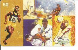 Télécarte Du BRESIL - Médailles D'Or Aux Jeux Olympiques - Jeux Olympiques